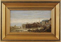 coastal scene by thomas james lloyd