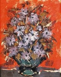 jarrón con flores by ricardo macarrón