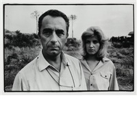 italian movies michelangelo antonioni and monica vitti, venice film festival by robert frank