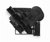 mirror-shadow iv by louise nevelson