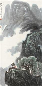雨后 by huang runhua