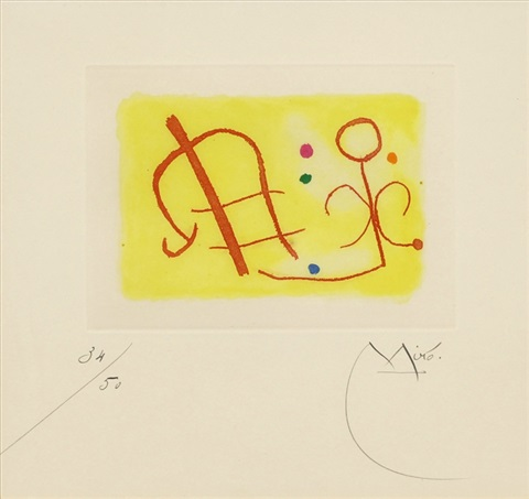 pl.6 (from fusees) by joan miró