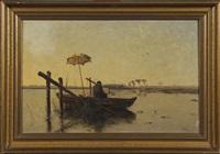 la barque du peintre by paul joseph constantin gabriël