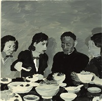 having lunch with the old man by qiu xiaofei