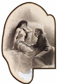 erotic scene by charles garabed atamian