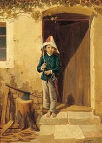 der kleine soldat by edmund frederic arthur krenn