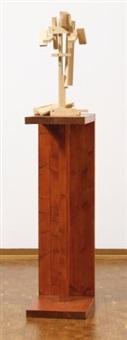 untitled (kopf kasper) by georg herold
