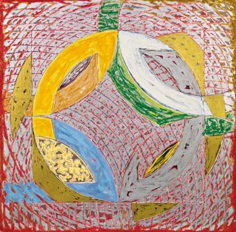 polar coordinates ii by frank stella