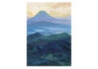 mountain range by hitoshi yamaba