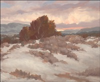 new mexico landscape by carl von hassler