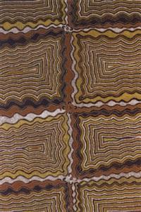 dreamtime string weaving by naparrula narpula scobie