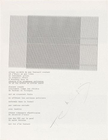 rêverie dun promeneur dactylopoeme by henri chopin