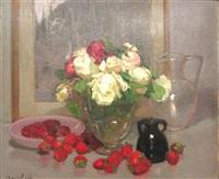 des roses et des fraises by marie marguerite reol