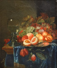 nature morte aux fruits (after peter de ring) by charles acher