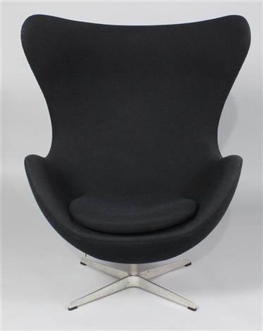 Vintage Arne Jacobsen Egg Chair By Arne Jacobsen