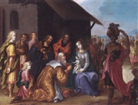 the adoration of the magi by pieter lisaert