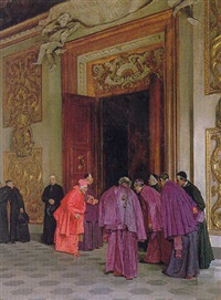 receiving the cardinal by giovanni lessi