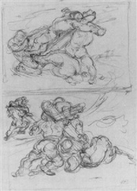 figure studies by hyman bloom