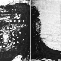 ohne titel (diptych) by stephan spicher