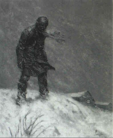 Image result for snowstorm art