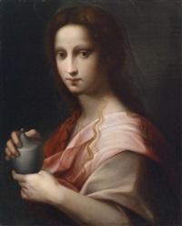 maria magdalena mit dem salbgefäß by domenico di bartolomeo (puligo) ubaldini