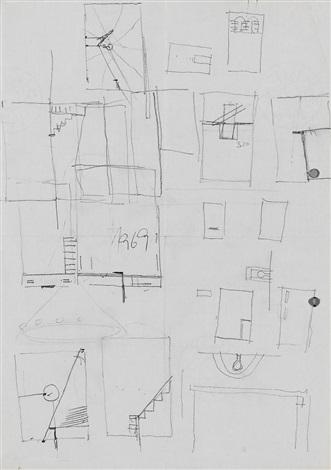 ohne titel lebenslauf sketch by joseph beuys
