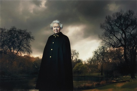 queen elizabeth ii buckingham palace london by annie leibovitz