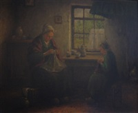 the sewing lesson by hans eybergen