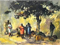 waiting for the bus by ruth squibb