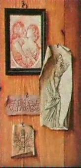trompe-l'oeil a la gravure et aux dessins by jean coustou