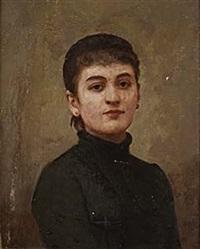 la femme de l'artiste by richard (sven r.) bergh