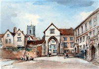 the erpingham gate, norwich by arthur edward davies