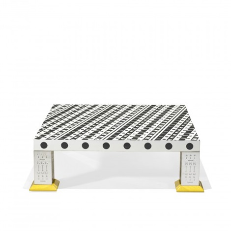 coffee table from the ollo collection by alchimia