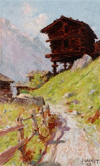 chemin des mayens by jules gachet