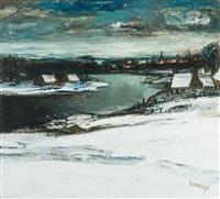 la lys sous la neige by albert saverys