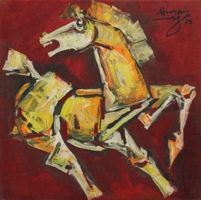Indias most prominent painter, M.F. Husain, dies   CTV News