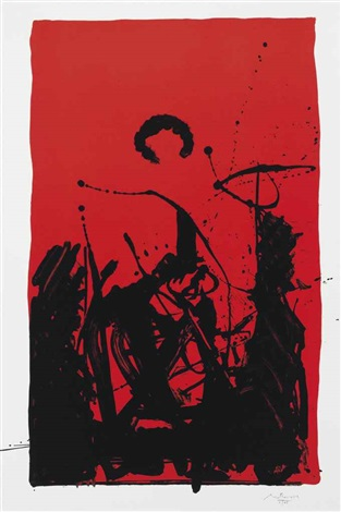 burning sun by robert motherwell