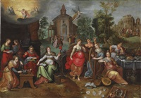 the parable of the wise and foolish virgins by pieter lisaert