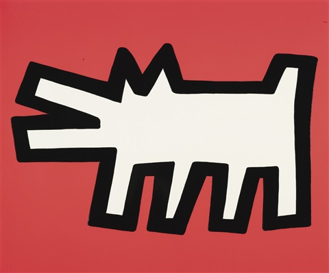 icons portfolio of 5 by keith haring