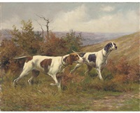 hounds on the scent by karl kristian uchermann