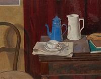 la cafetière bleue by charles felix appenzeller