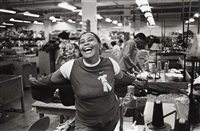 mom at work by carrie mae weems