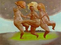 tres desnudos by clarel neme