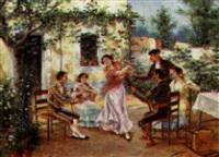 the flamenco dancer by eugenio lafuente
