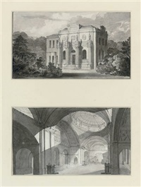 the three-per-cent consols transfer office, bank of england (+ pitshanger manor house, ealing; 2 works) by john soane