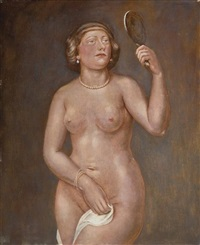 woman nude by kenneth hayes miller