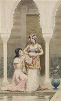 deux femmes au harem by alberto fabbi