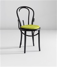 unique thonet chair (from the where there's smoke series) by maarten baas