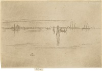 long lagoon (from twenty-six etchings) by james abbott mcneill whistler