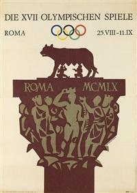 die xvii olympischen spiele/roma by armando testa